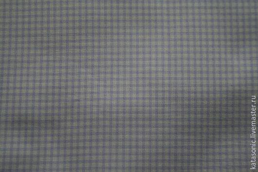Шитье ручной работы. Ярмарка Мастеров - ручная работа. Купить 1284 Клеточка. Американская ткань. Handmade. Сиреневый, ткань с рисунком
