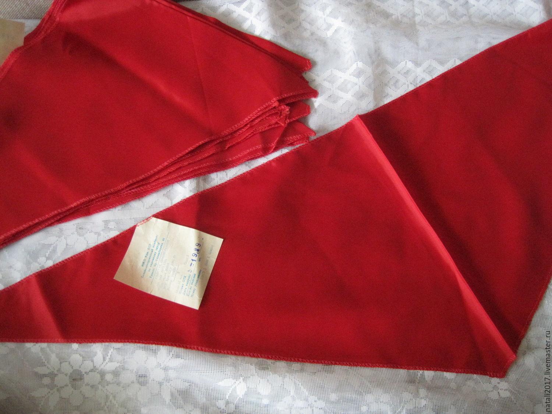 советский пионерский галстук купить поэтому