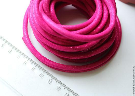 """Для украшений ручной работы. Ярмарка Мастеров - ручная работа. Купить Шнур для украшений 50 см """"Велюровый розовый"""". Handmade."""