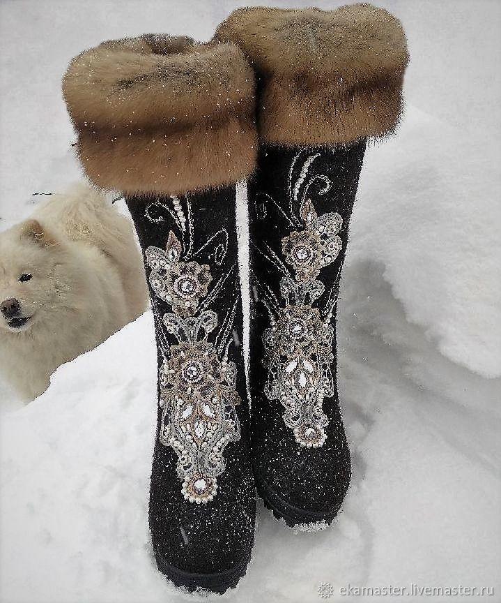 Boots ' Beauty Of Siberia', Felt boots, Ekaterinburg,  Фото №1