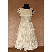 Одежда handmade. Livemaster - original item Lace prom dress color Avery (ivory). Handmade.