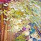 """Пейзаж ручной работы. """"Таинственная Обитель"""" авторская картина маслом на холсте. ЯРКИЕ КАРТИНЫ Наталии Ширяевой. Ярмарка Мастеров."""