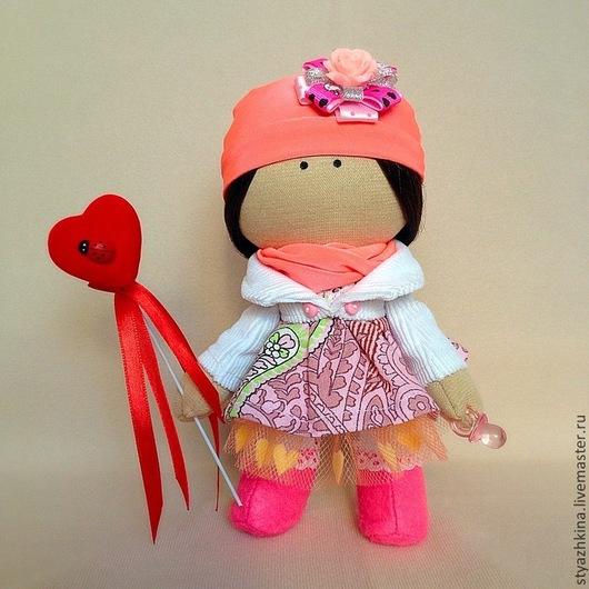 Коллекционные куклы ручной работы. Ярмарка Мастеров - ручная работа. Купить Куколка-малышка.Цвет на ваш выбор.. Handmade. Разноцветный