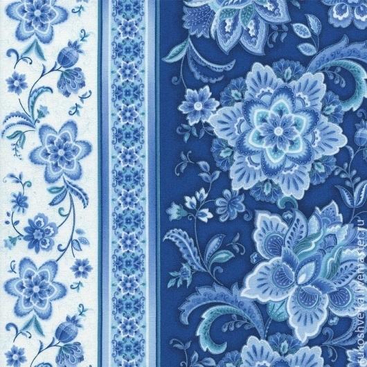 Шитье ручной работы. Ярмарка Мастеров - ручная работа. Купить Американский хлопок коллекция Main Ornate Floral. Handmade. Ткань