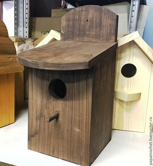 Домик для птиц `Синичник Важный` Столярная мастерская `Папа-Может`