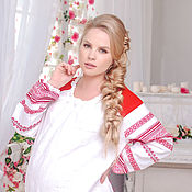 Русский стиль handmade. Livemaster - original item Dress festive Slavic