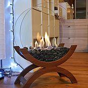Для дома и интерьера handmade. Livemaster - original item Bio-fireplace floor Lounge oak
