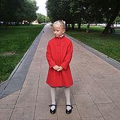 """Пальто ручной работы. Ярмарка Мастеров - ручная работа Пальто шерсть """"Классика"""" для девочки. Handmade."""