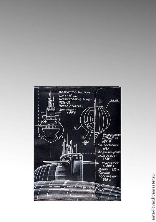 """Футляры, очечники ручной работы. Ярмарка Мастеров - ручная работа. Купить Папка несессер """"667-А"""". Handmade. Тёмно-синий"""