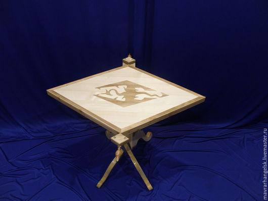 Зеркала ручной работы. Ярмарка Мастеров - ручная работа. Купить Проект Skyrim. Handmade. Skyrim, столик журнальный, инкрустация по дереву
