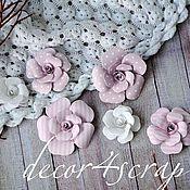 Материалы для творчества ручной работы. Ярмарка Мастеров - ручная работа Набор цветов Freetany Flowers – 13 Baby Girl. Handmade.