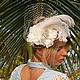 """Свадебная шляпка """"Jassi"""", Шляпы, Санкт-Петербург,  Фото №1"""