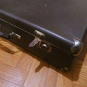 Vintage bags handmade. Livemaster - original item Vintage suitcase from the Soviet Union. Handmade.