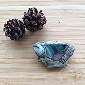 Украшения handmade. Livemaster - original item Patagonia brooch with larimar, agate and coral handmade. Handmade.