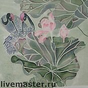 Картины и панно ручной работы. Ярмарка Мастеров - ручная работа Распустился цветок..как же сладок его аромат.... Handmade.