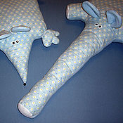 Для дома и интерьера ручной работы. Ярмарка Мастеров - ручная работа подушечное зверье. Handmade.