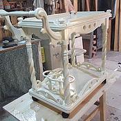Для дома и интерьера ручной работы. Ярмарка Мастеров - ручная работа столик сервировочный на колесиках.. Handmade.