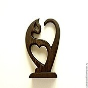 Для дома и интерьера handmade. Livemaster - original item Wooden figurine
