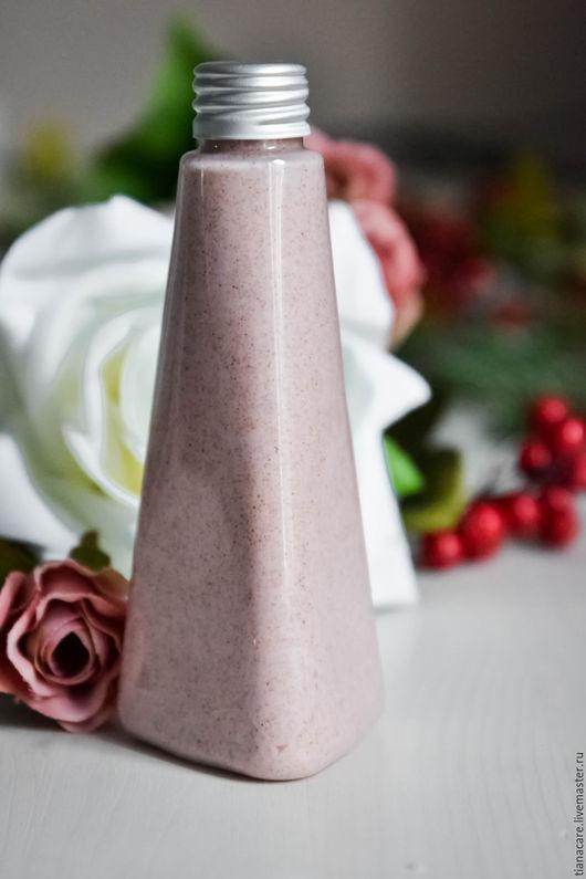 Крем, гель, сыворотка ручной работы. Ярмарка Мастеров - ручная работа. Купить Крем- скраб для душа Три розы. Handmade.
