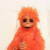 Куклы и игрушки ручной работы. Ярмарка Мастеров - ручная работа Огненная обезьянка. Handmade.
