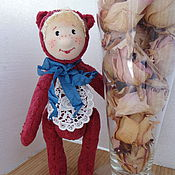 Куклы и игрушки ручной работы. Ярмарка Мастеров - ручная работа Тедди Гном Карамельный. Handmade.
