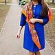 Верхняя одежда ручной работы. Пальто демисезонное Fiore blu. Oksana Vadyun. Интернет-магазин Ярмарка Мастеров. Однотонный, кашемир
