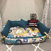 Аксессуары для питомцев ручной работы. Ярмарка Мастеров - ручная работа Лежанка/лежак для собак и кошек. Handmade.