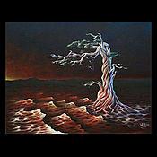 Картины и панно ручной работы. Ярмарка Мастеров - ручная работа Коллекционная картина: Кровь земли. Handmade.