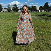 Одежда ручной работы. Ярмарка Мастеров - ручная работа Платье стиль бохо. Handmade.