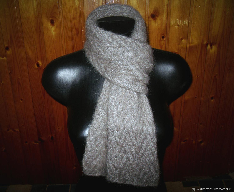 Men's knitted scarf, Scarves, Klin,  Фото №1