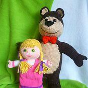 Куклы и игрушки ручной работы. Ярмарка Мастеров - ручная работа Маша и Медеведь. Handmade.