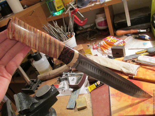 Оружие ручной работы. Ярмарка Мастеров - ручная работа. Купить Нож 3. Handmade. Дамасская сталь, подарок, хобби