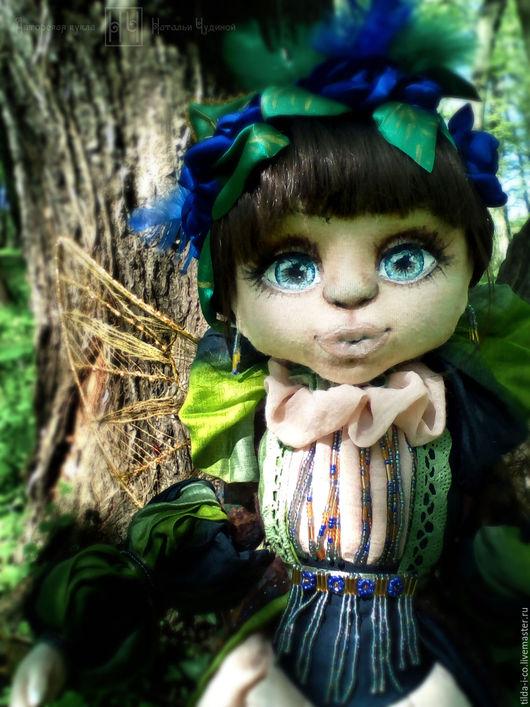 Коллекционные куклы ручной работы. Ярмарка Мастеров - ручная работа. Купить Лесная Фея. Handmade. Комбинированный, лесная фея