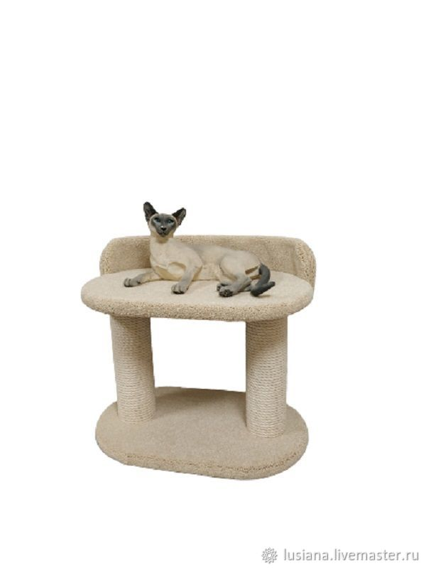 The cat bed fits on the windowsill. Available in size, Scratching Post, Ekaterinburg,  Фото №1