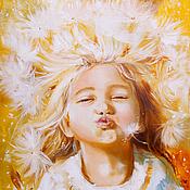 Картины и панно ручной работы. Ярмарка Мастеров - ручная работа Дитя солнца. Handmade.