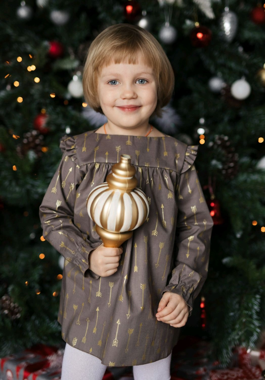 Платье Золотой шоколад