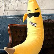 Сувениры и подарки handmade. Livemaster - original item A huge banana is a cool gift for a girl on her birthday, March 8. Handmade.