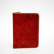 Канцелярские товары handmade. Livemaster - original item Genuine leather passport cover ( model 2 ). Handmade.
