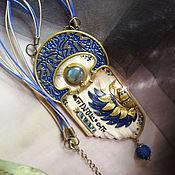 """Кулон ручной работы. Ярмарка Мастеров - ручная работа """"Скарабей""""- кулон в египетском стиле.. Handmade."""