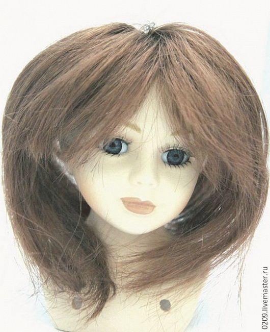 Куклы и игрушки ручной работы. Ярмарка Мастеров - ручная работа. Купить волосы прямые D5-6 см. Handmade. Комбинированный