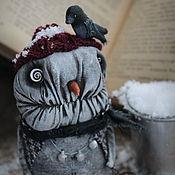 Куклы и игрушки handmade. Livemaster - original item Crazy snowman.. Handmade.