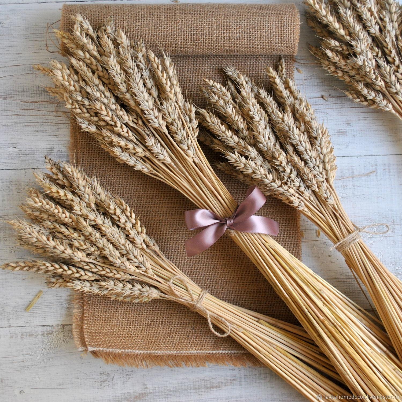 Букет из колосьев пшеницы своими руками 424