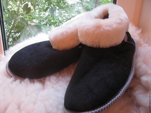 Обувь ручной работы. Ярмарка Мастеров - ручная работа. Купить Большие чуни 46 и 47 размер. Handmade. тапки для мужчин