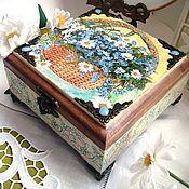 Для дома и интерьера handmade. Livemaster - original item Casket