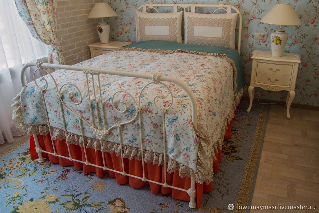 Комплект в спальню в стиле Прованс, Пледы, Москва, Фото №1