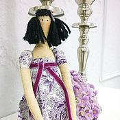 Куклы и игрушки ручной работы. Ярмарка Мастеров - ручная работа Текстильная кукла. Тильда-Монечка. Handmade.