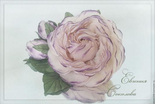 Броши ручной работы. Ярмарка Мастеров - ручная работа. Купить Брошь-цветок Сиреневый туман. Handmade. Брошь-цветок