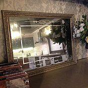 Для дома и интерьера ручной работы. Ярмарка Мастеров - ручная работа Зеркало состаренное. Handmade.