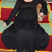 Одежда ручной работы. Ярмарка Мастеров - ручная работа платье вязаное из мохера Гимназистка. Handmade.