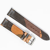 Украшения handmade. Livemaster - original item Camouflage Beige Genuine leather strap. Handmade.
